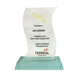TERREAL Building Beauty – Silver Class Stockist 2016